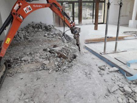 Bestand im Bau - Dienstleistungen